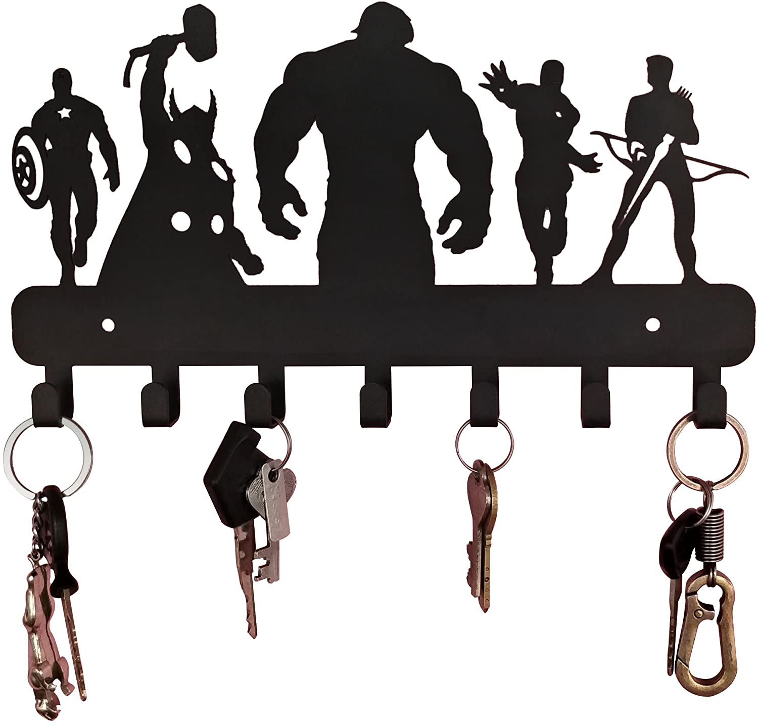 4-10 best key holders for wall
